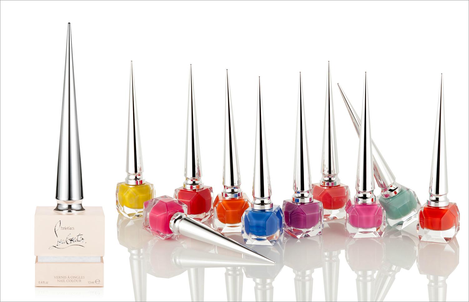 Christian Louboutin nail polish pop nail color summer beauty ideas