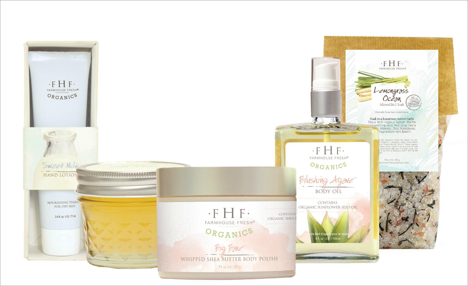 FarmHouse Fresh organics beauty products summer natural fresh
