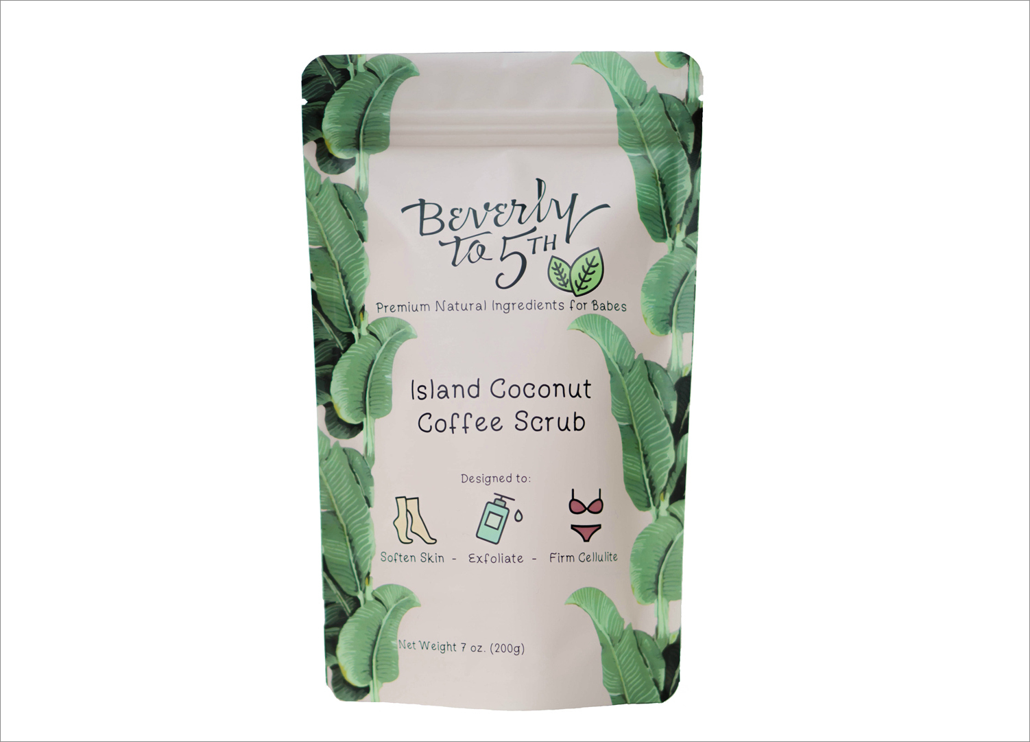 Beverly to 5th coconut scrub coffee scrub beauty ideas summer