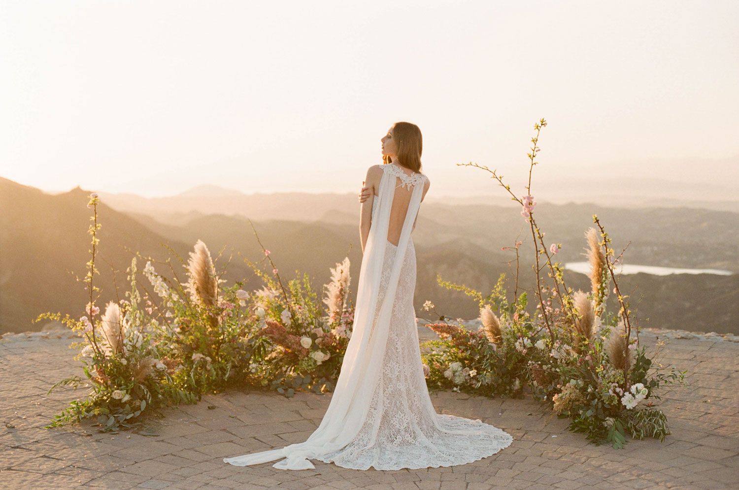 Claire Pettibone Romantique 2018 The Vineyard Collection low back wedding dress Saratoga