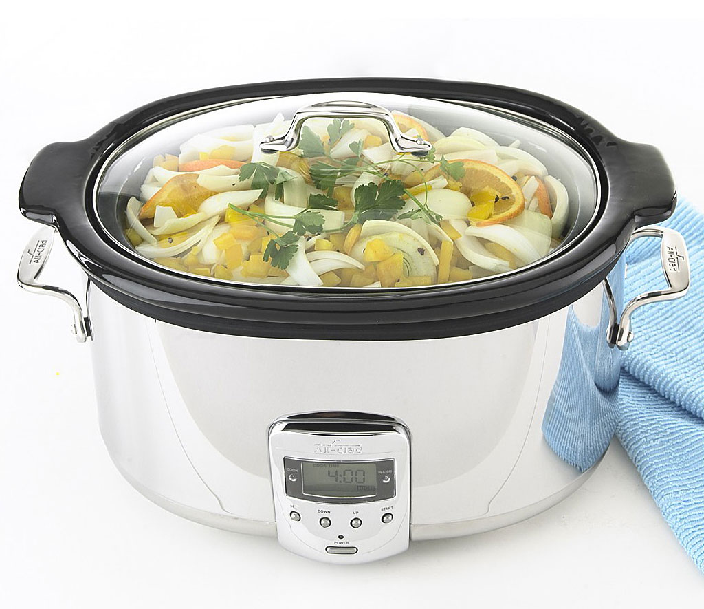 6.5-Quart Slow Cooker, $179.99 by All-Clad; bloomingdales.com