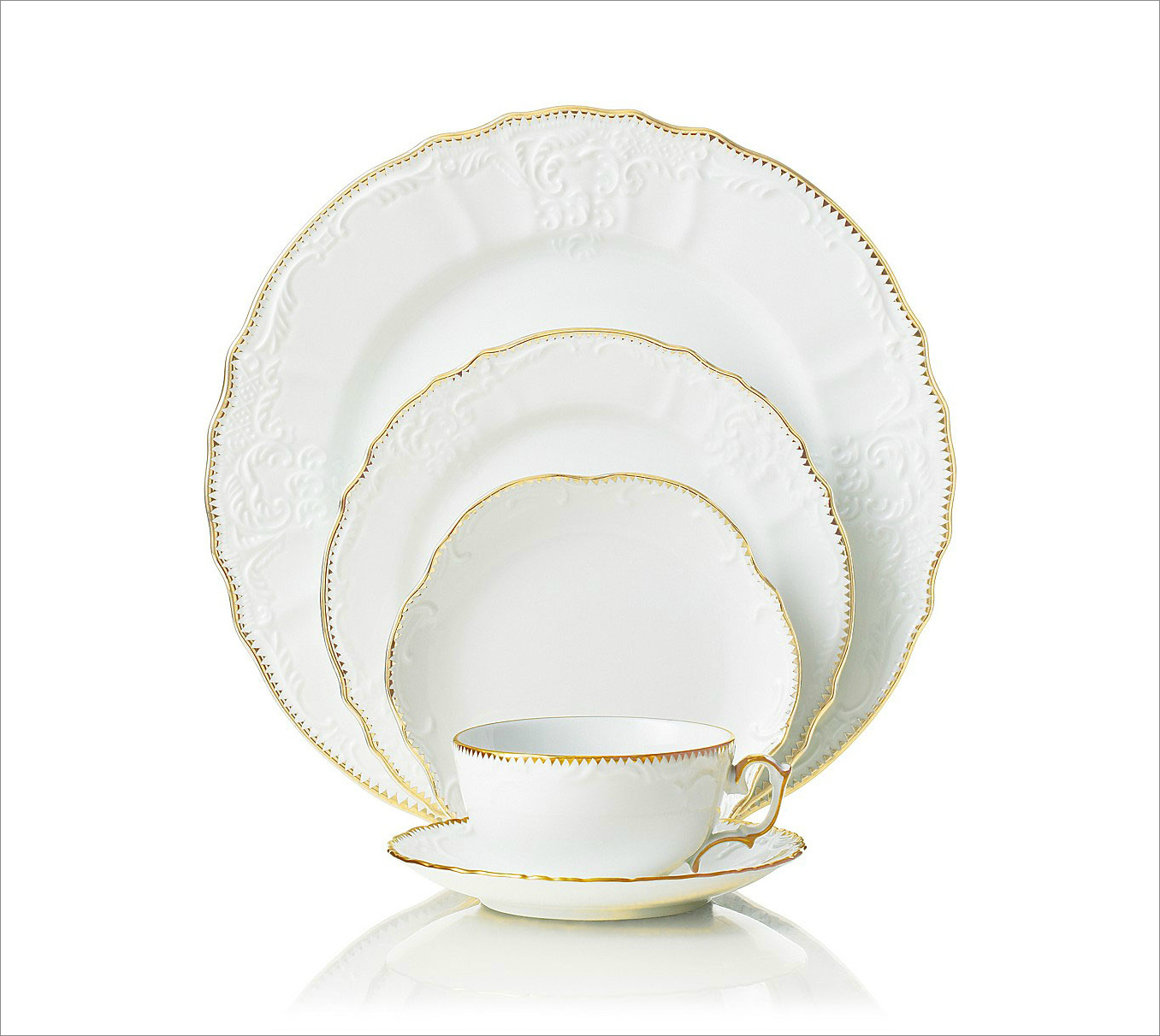 Simply Anna dinnerware, $43-70 by Anna Weatherly; gearys.com
