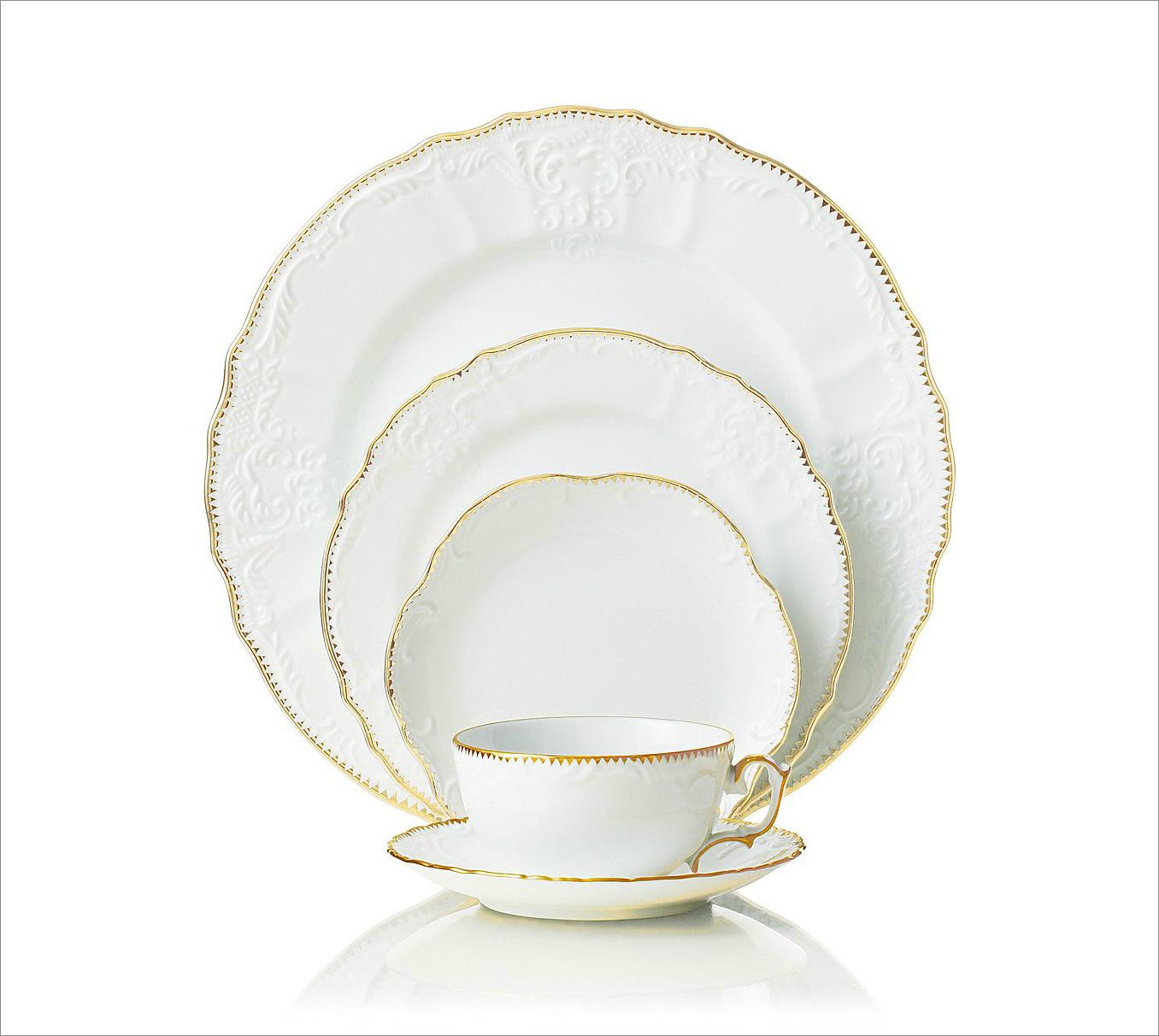 Simply Anna dinnerware, $43-70 by Anna Weatherly; gearys.com