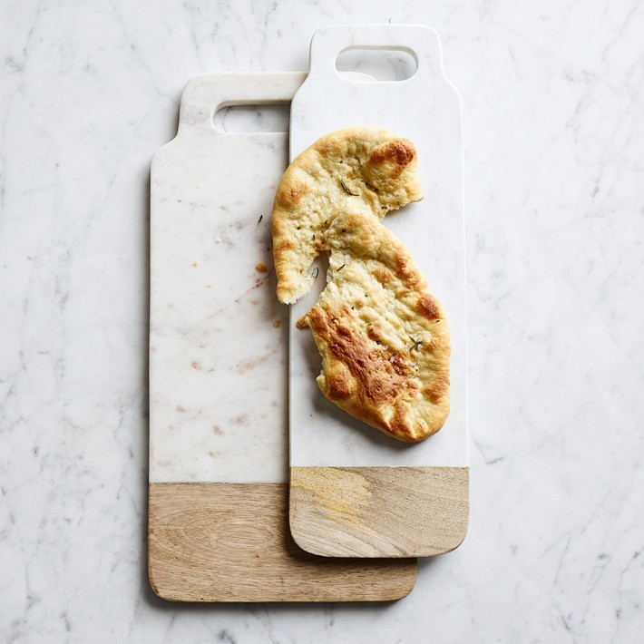 Marble & Wood Cheese Boards, $30-50 by Crate and Barrel; crateandbarrel.com