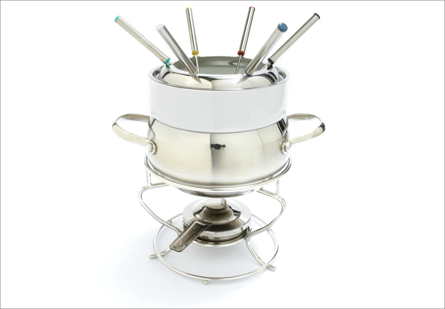 Stainless Steel Fondue, $89.95 from Sur La Table; surlatable.com
