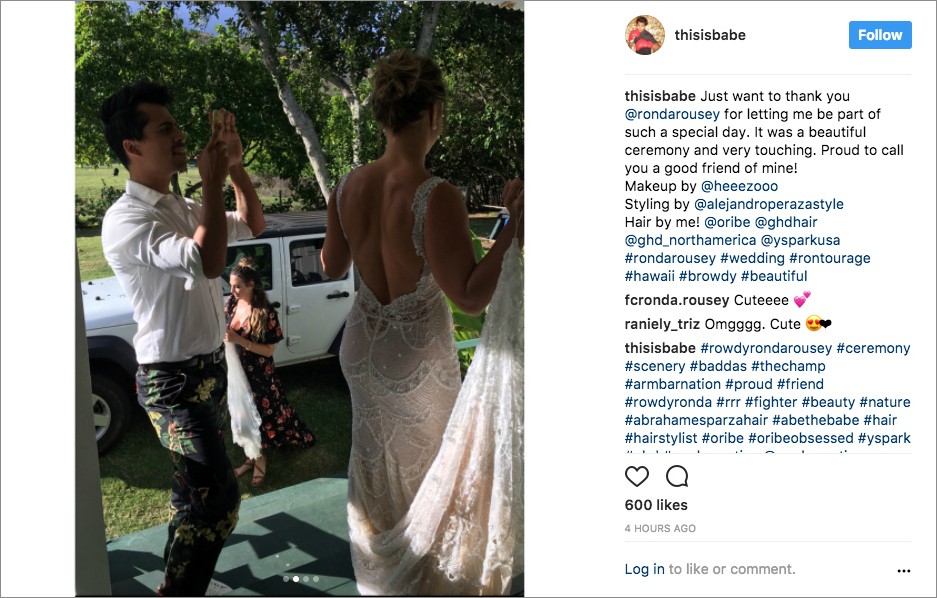 Ronda Rousey And Travis Browne Are Married Photos From Their