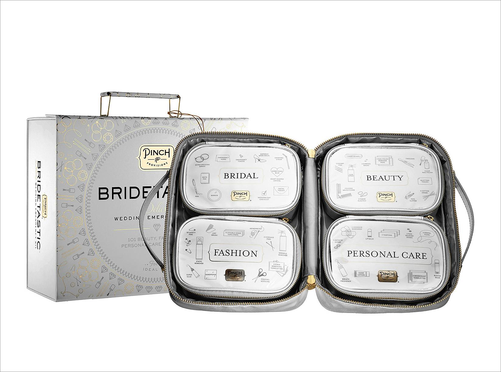 Bridetastic wedding day emergency kit