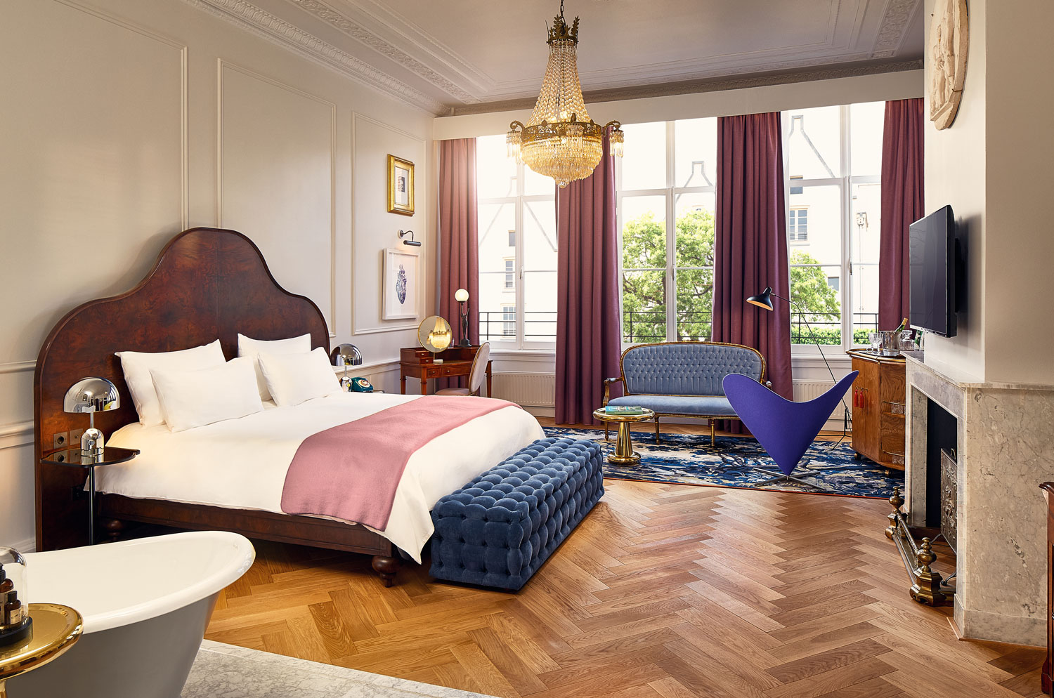 Pulitzer Suite at Pulitzer Amsterdam hotel honeymoon ideas Europe