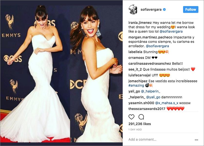 Emmys Fashion: 2017 Emmy Award Dresses & Bridal Gown Looks - Inside ...
