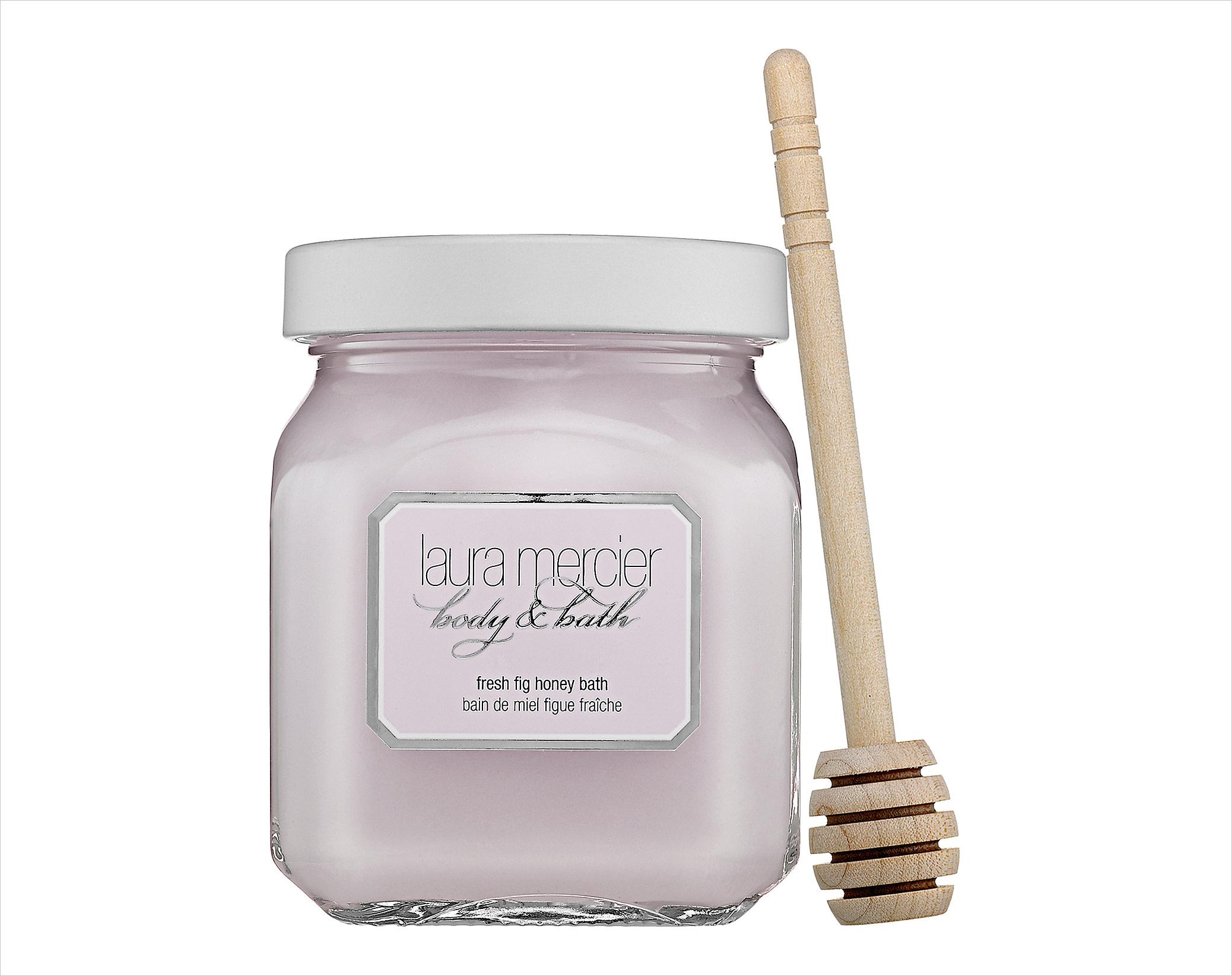 Fresh fig honey bath Laura Mercier bubble bath bridal relaxation tips and products