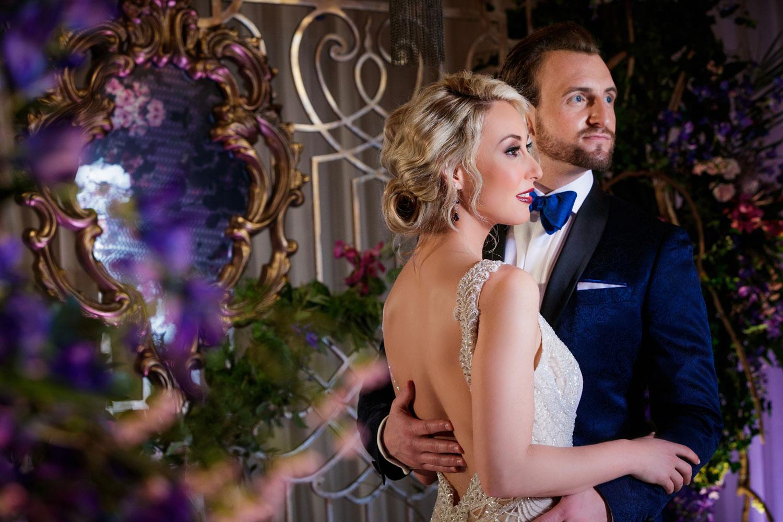 Inspired Wedding styled shoot A Romantic Affair Bob & Dawn Davis Photography couple