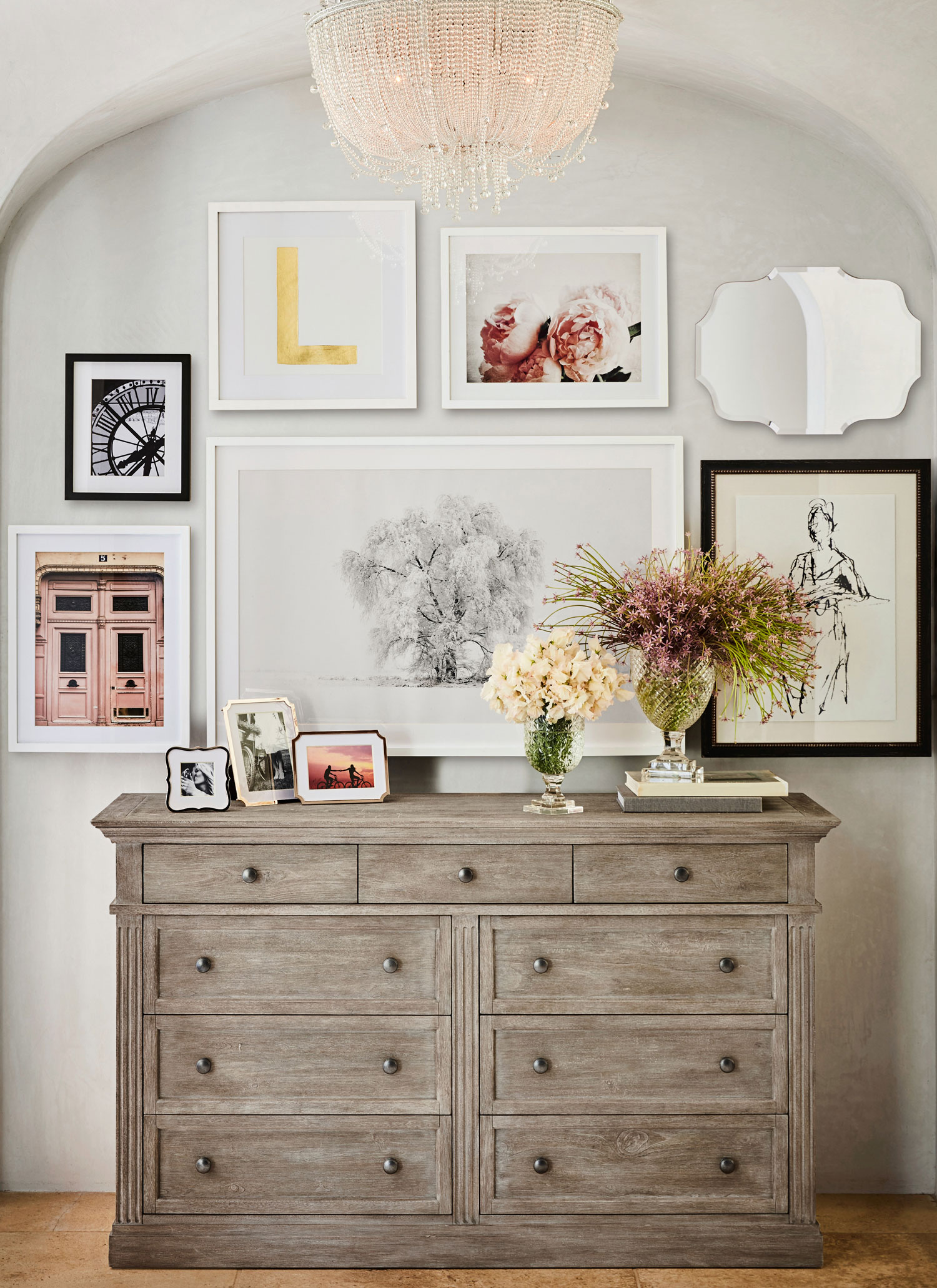 Monique Lhuillier for Pottery Barn collection dresser