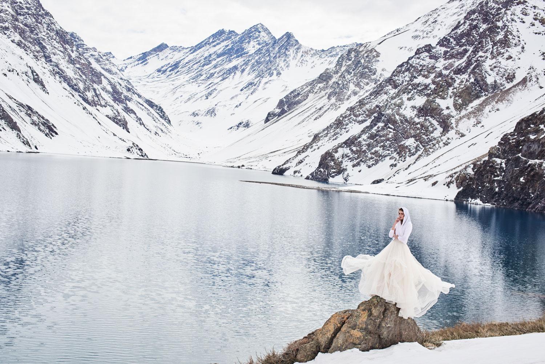 BHLDN Effie wedding dress skirt with Ethereal sweater
