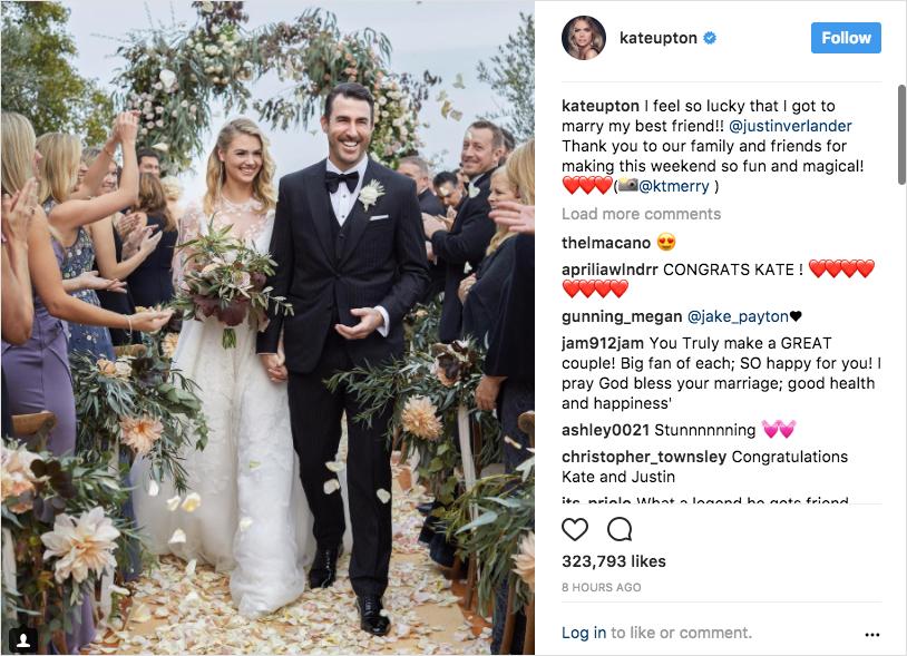 kate upton justin verlander wedding picture