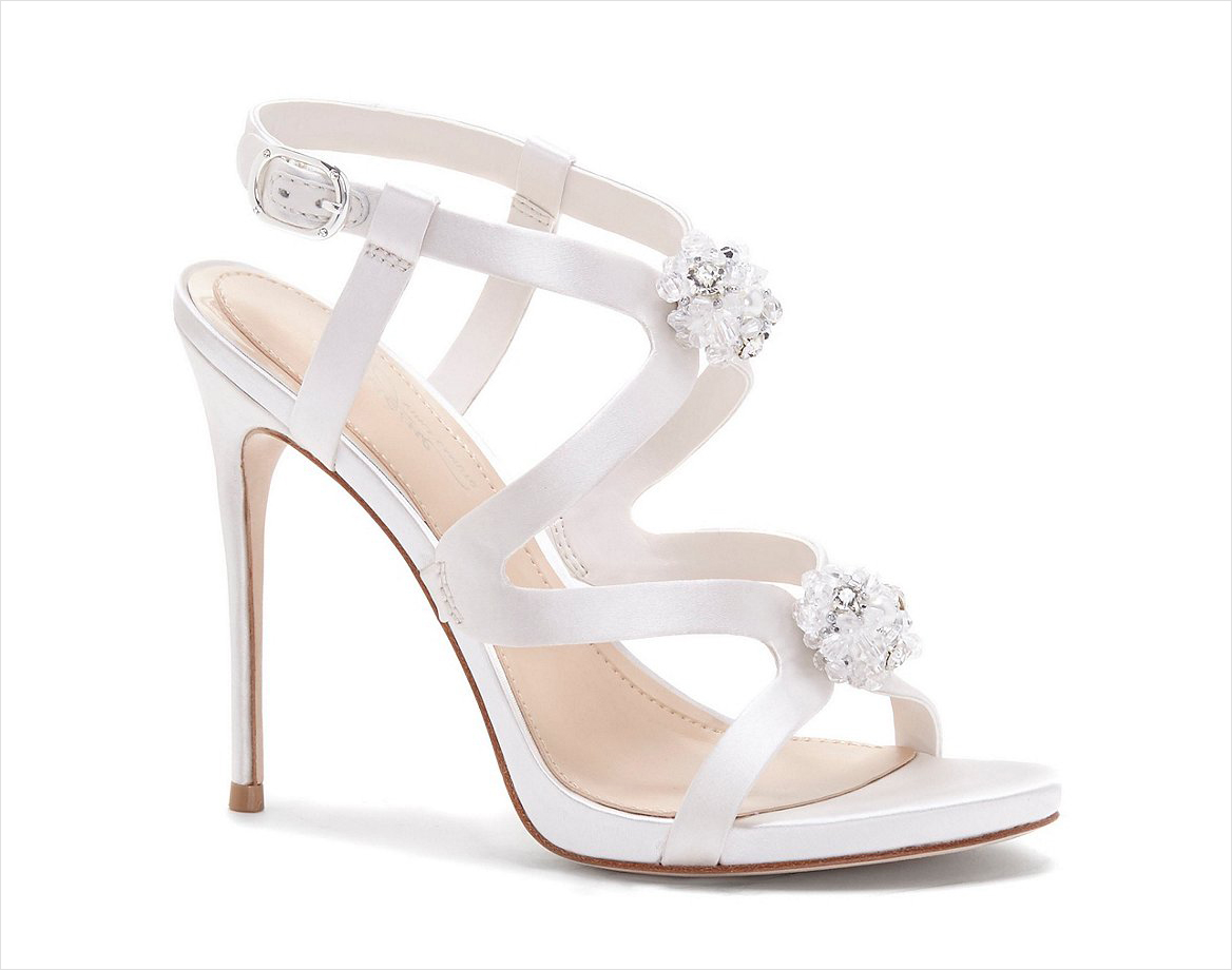 Daija cluster sandal imagine vince camuto wedding heels shoes white