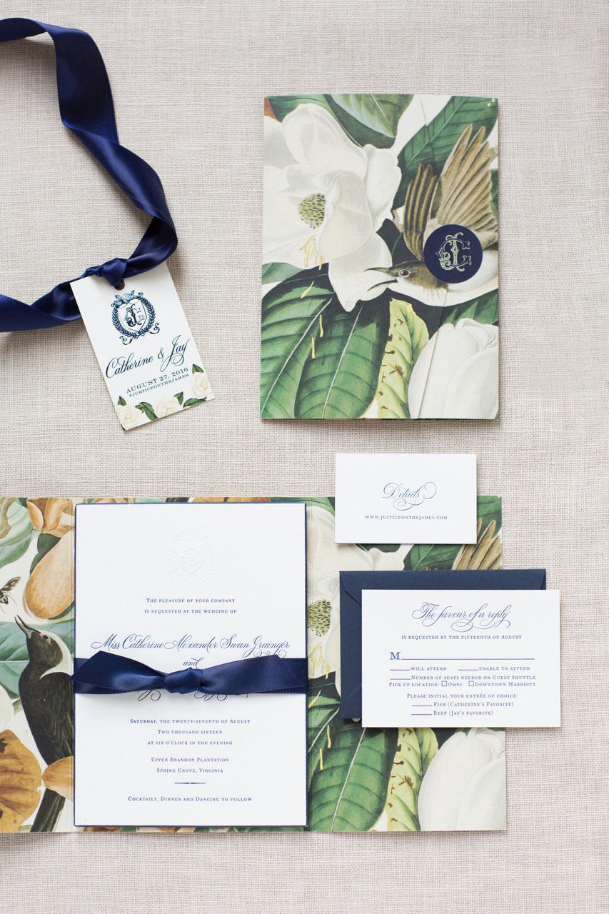 Wedding detail shot photography invitation suite