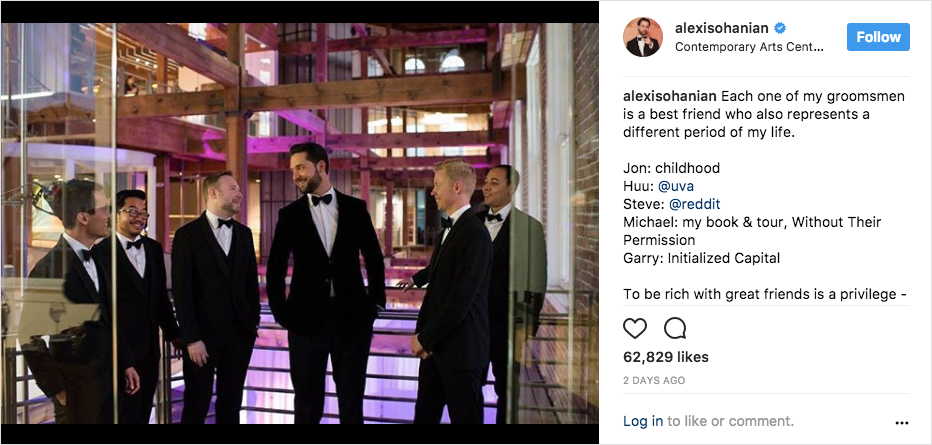serena williams and alexis ohanian groomsmen picture