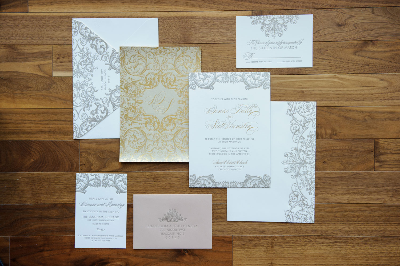 Invitation suite by Ceci New York