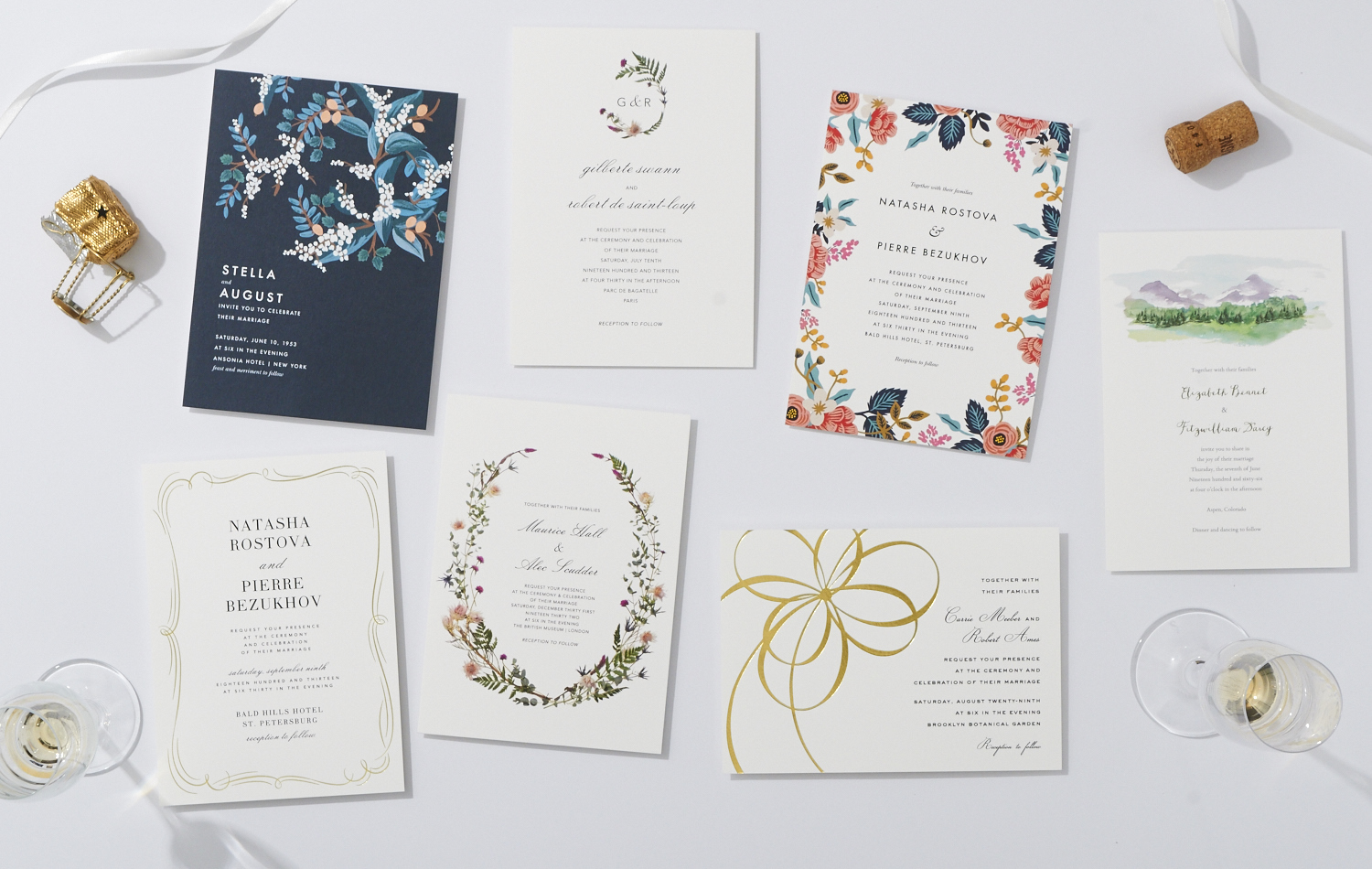 Print and Digital Ideas for Your Wedding Events - Inside Weddings