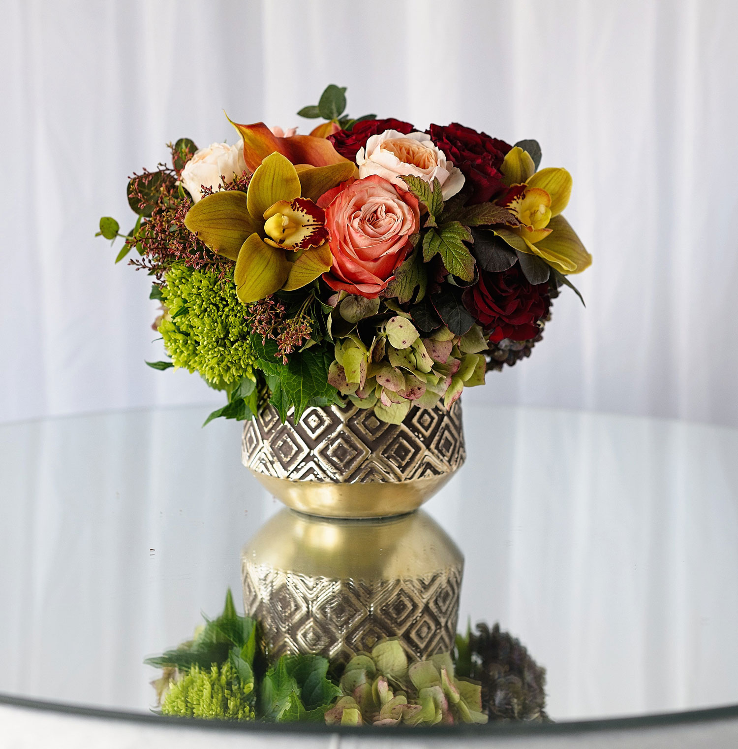 The Hidden Garden flower arrangement holiday gift guide