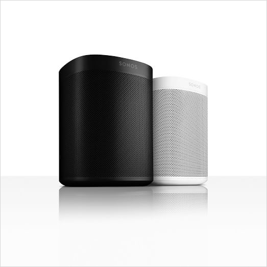 Sonos One speaker with Alexa at West Elm holiday gift guide