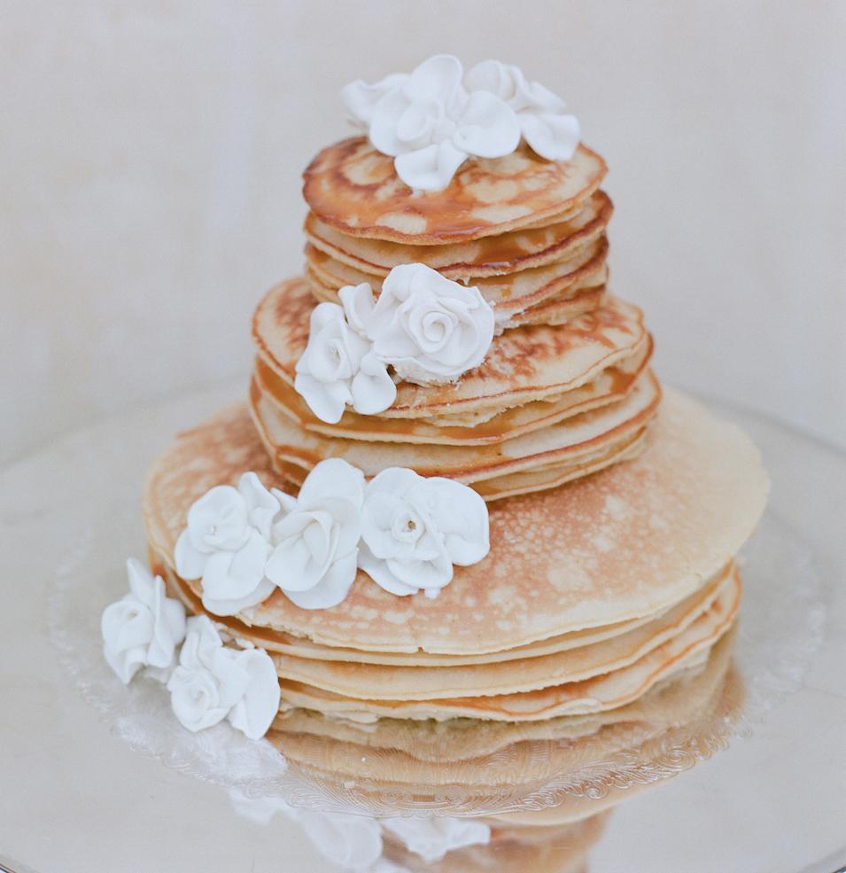 wedding pancakes, morning-after brunch wedding weekend
