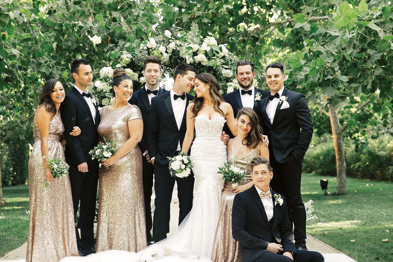 Inside Weddings winter 2018 issue preview real weddings wedding ideas Jillian Murray Dean Geyer wedding