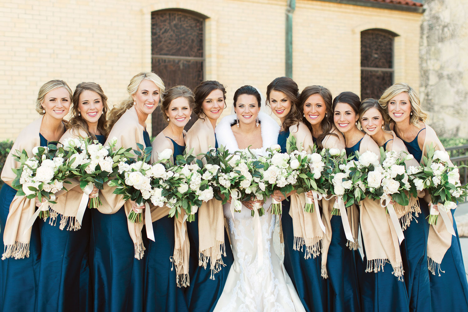Inside Weddings winter 2018 issue preview real weddings wedding ideas winter bridesmaids