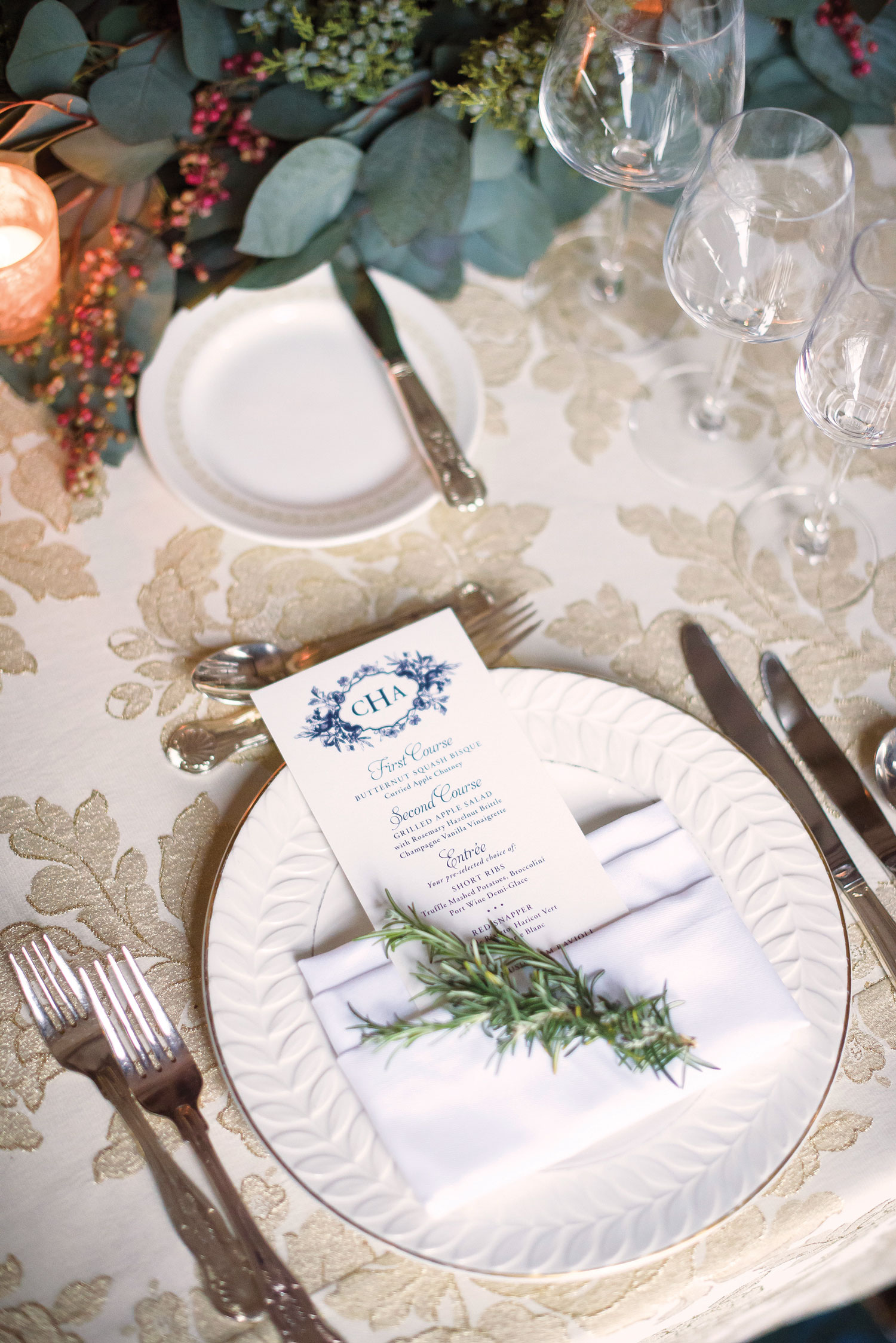 Inside Weddings winter 2018 issue preview real weddings wedding ideas place setting