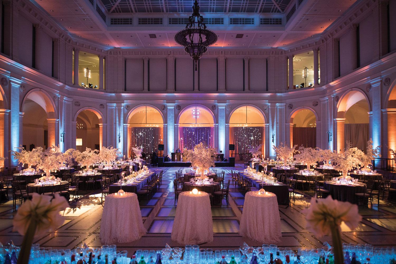 Inside Weddings winter 2018 issue preview real weddings Ballroom wedding inspiration