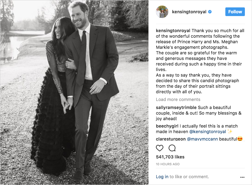 prince harry and meghan markle engagement photos candid