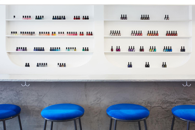 Color Camp in Los Angeles, California nail salon