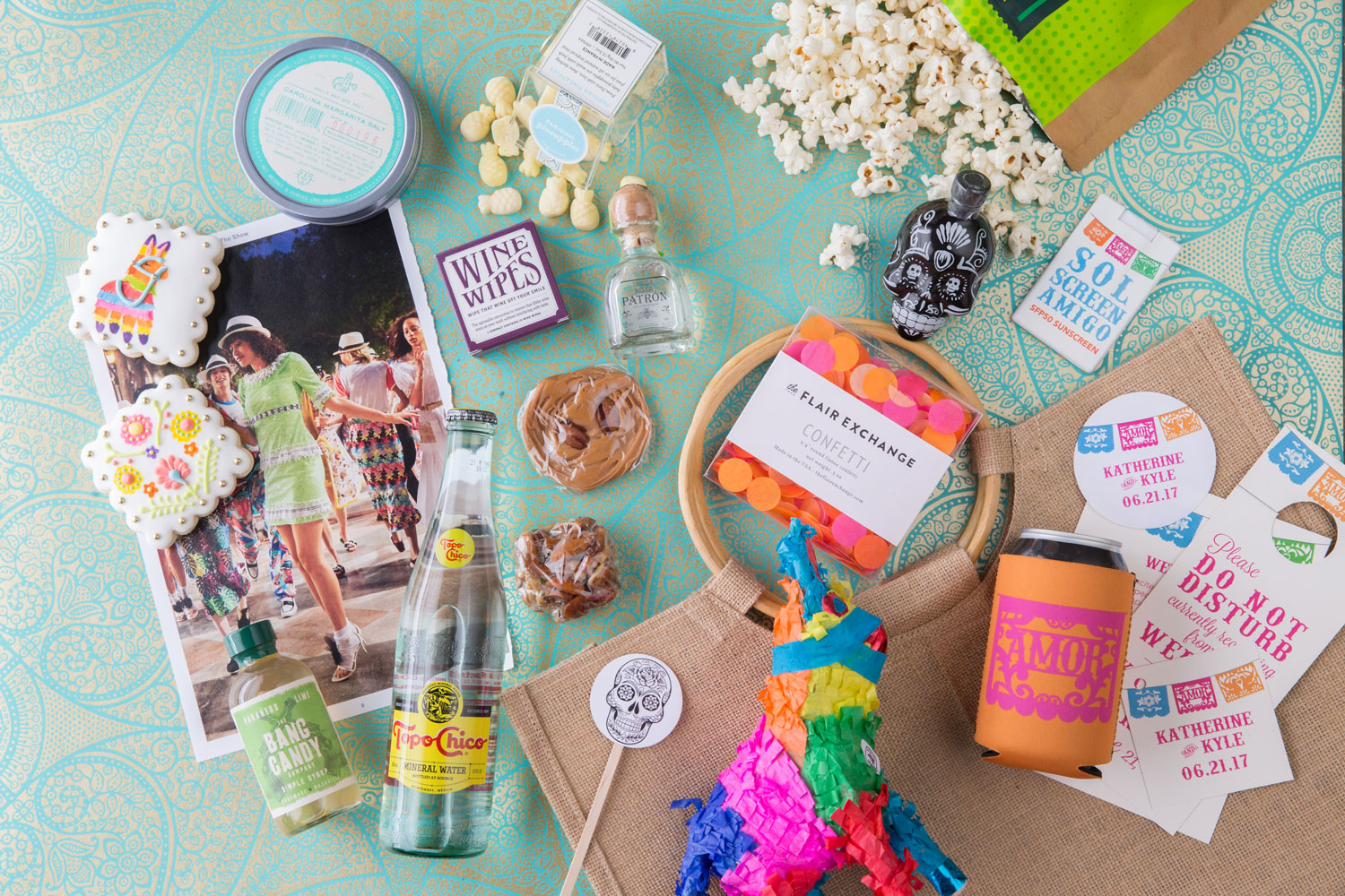 destination beach wedding welcome bag ideas The Welcome Bag Committee by Jordan Payne Events