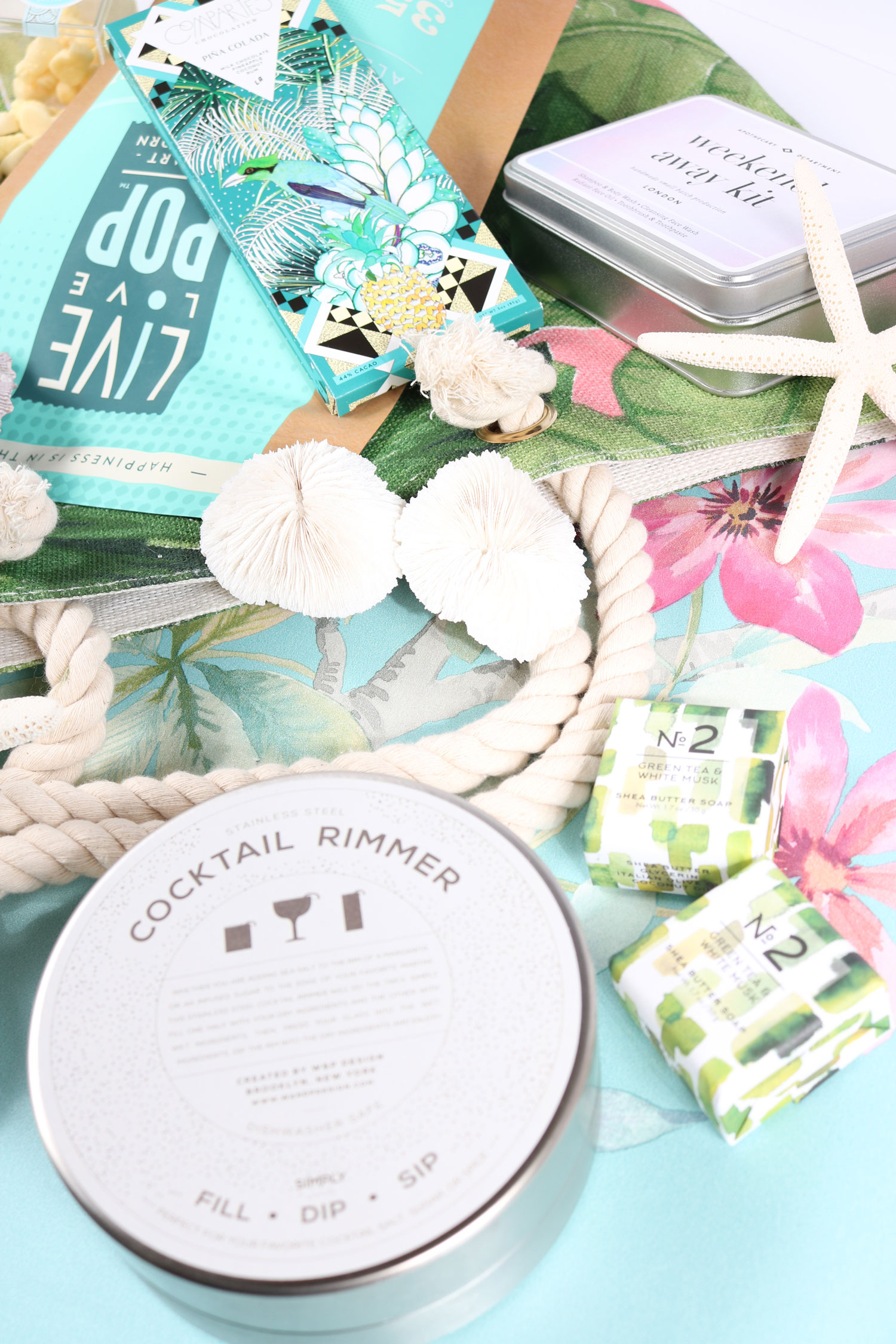 wedding welcome bag product ideas The Welcome Bag Committee by Jordan Payne Events