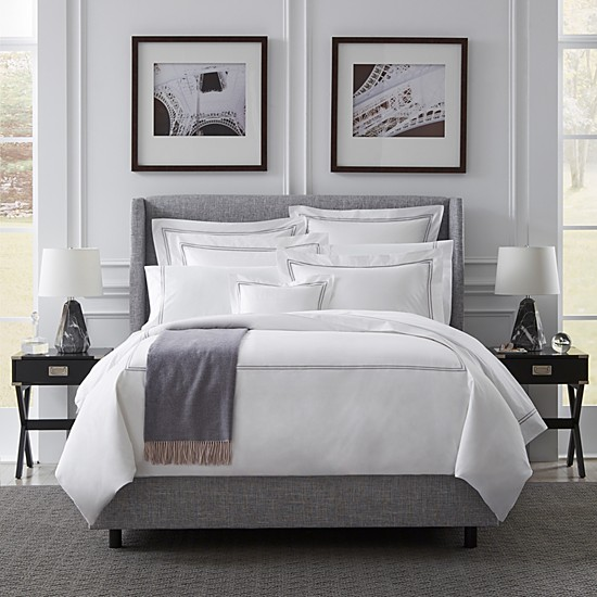 Hotel Collection bedding from SFERRA Bloomingdale's wedding registry ideas
