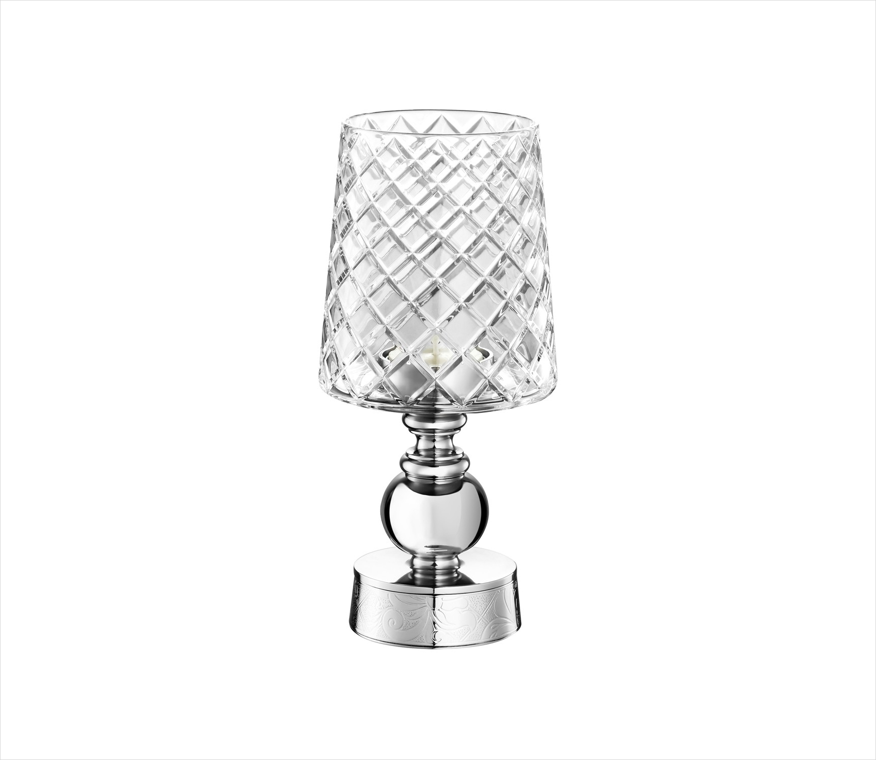 Jardin d'Eden votive lamp with crystal shade Christofle from Gearys Beverly Hills wedding registry ideas