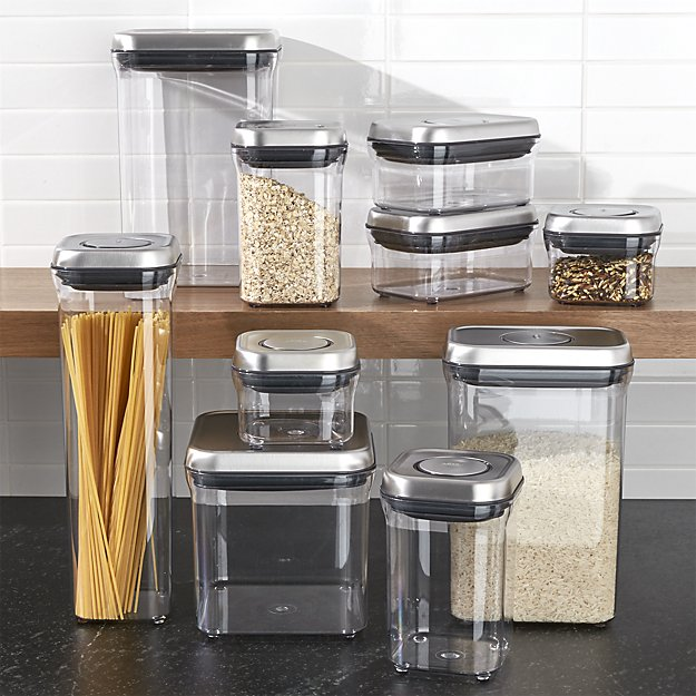 Organizational Steel Pop containers wedding registry ideas
