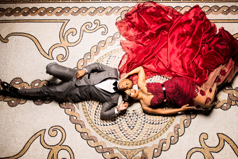 Kacey Angulo and Tony Sipp Houston Astros baseball player wedding engagement photo shoot session on floor