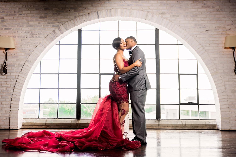 Kacey Angulo and Tony Sipp Houston Astros baseball player wedding engagement photo shoot session window
