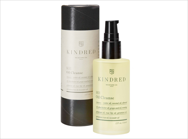Kindred Oil Cleanse face wash organic essential oils wedding beauty ideas