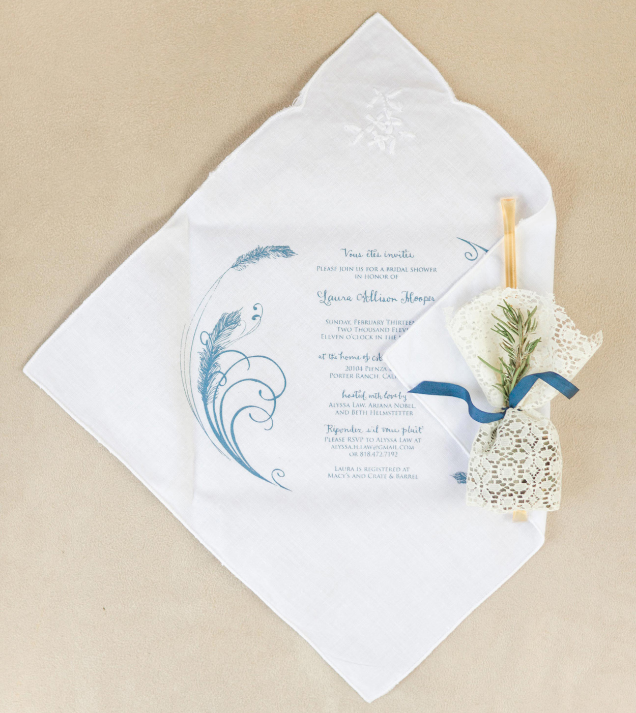 what information to include on bridal shower invitations