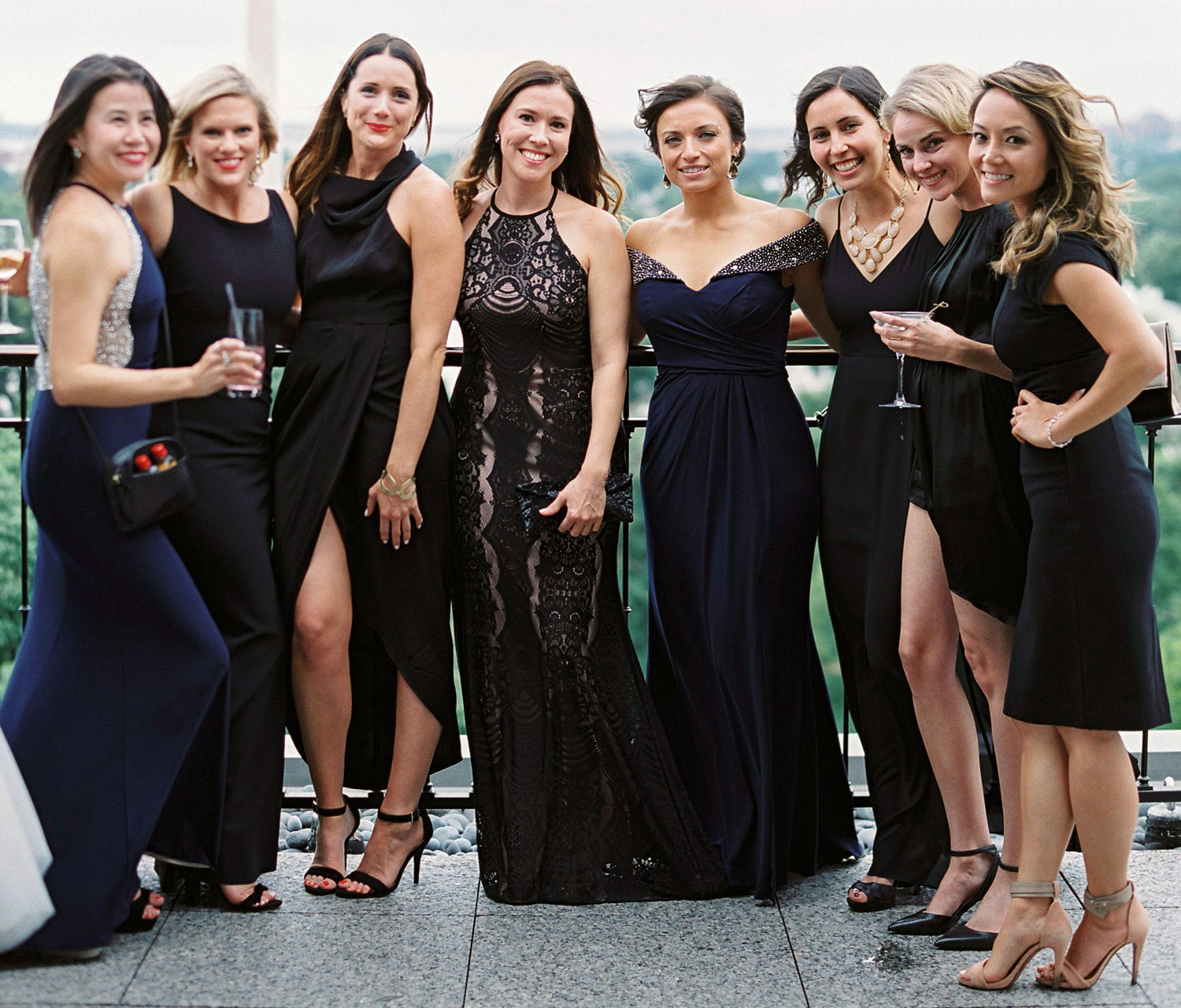 how to involve your friends in your wedding without having a bridal party