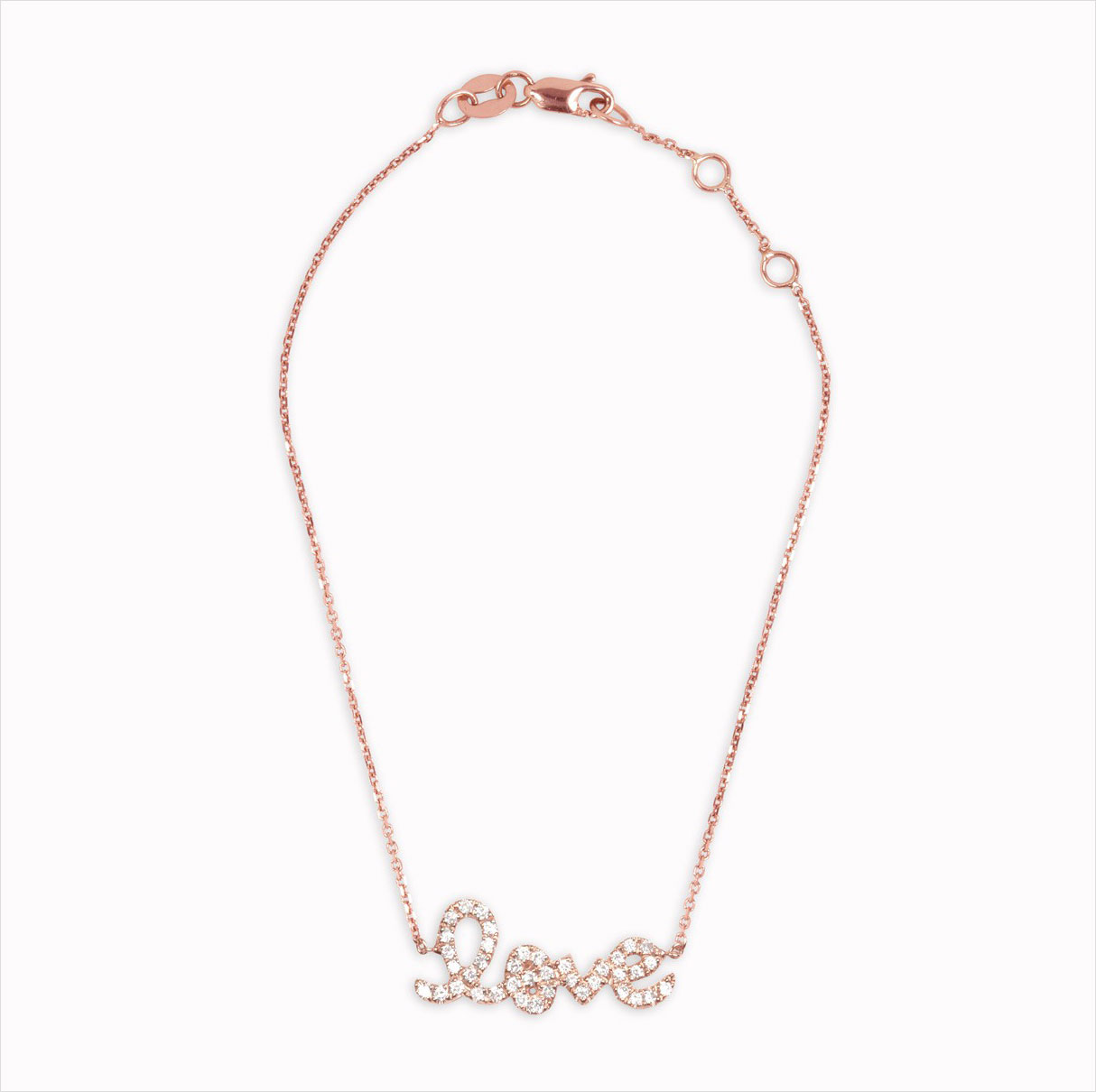 Gearys Sydney Evan love rose gold bracelet valentine's day gift ideas