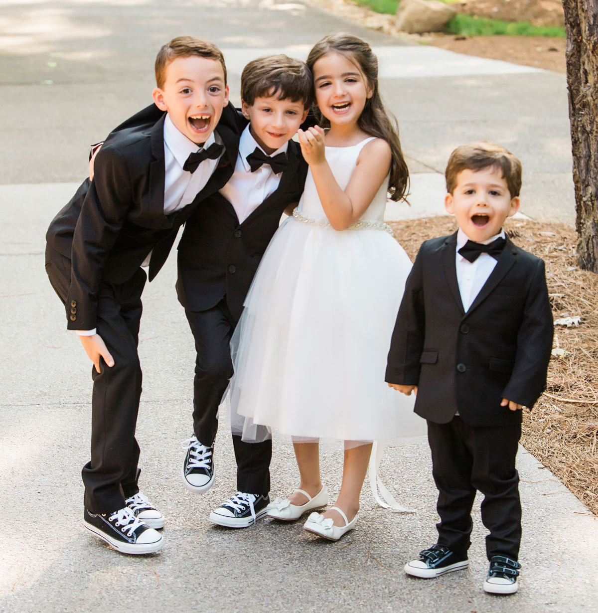476e93e57 What Should Your Flower Girl and Ring Bearer Wear? - Inside Weddings
