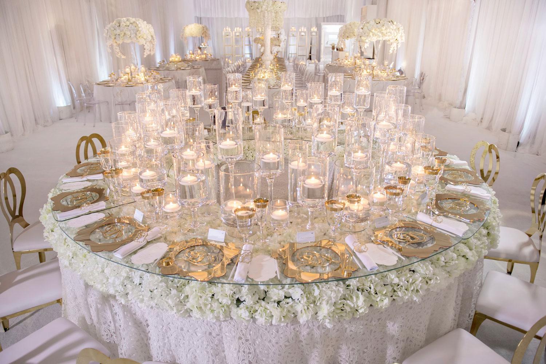 Wedding Ideas No Tablecloths On Reception Tables Inside
