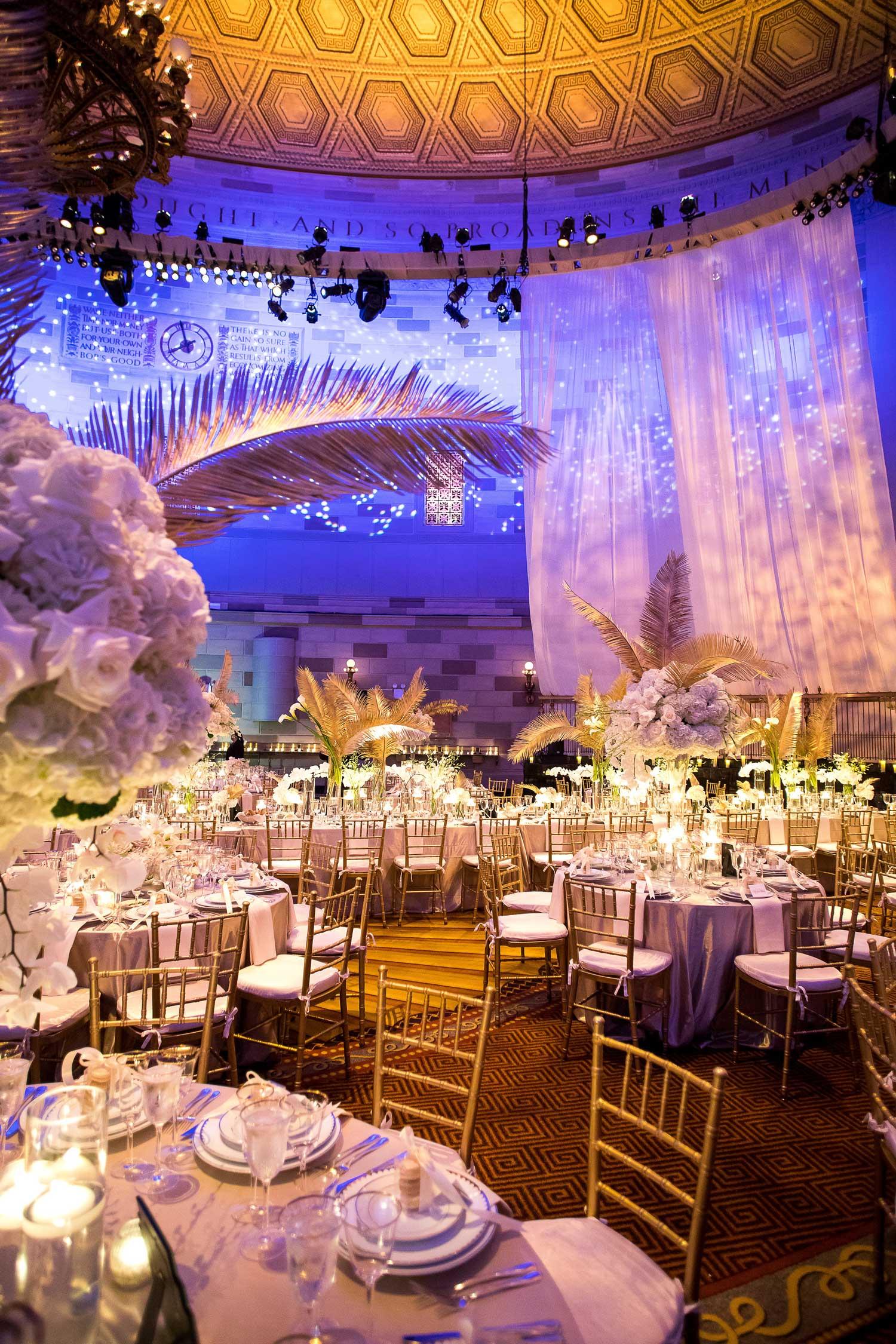 Roey yohai wedding reception inside weddings spring 2018 issue
