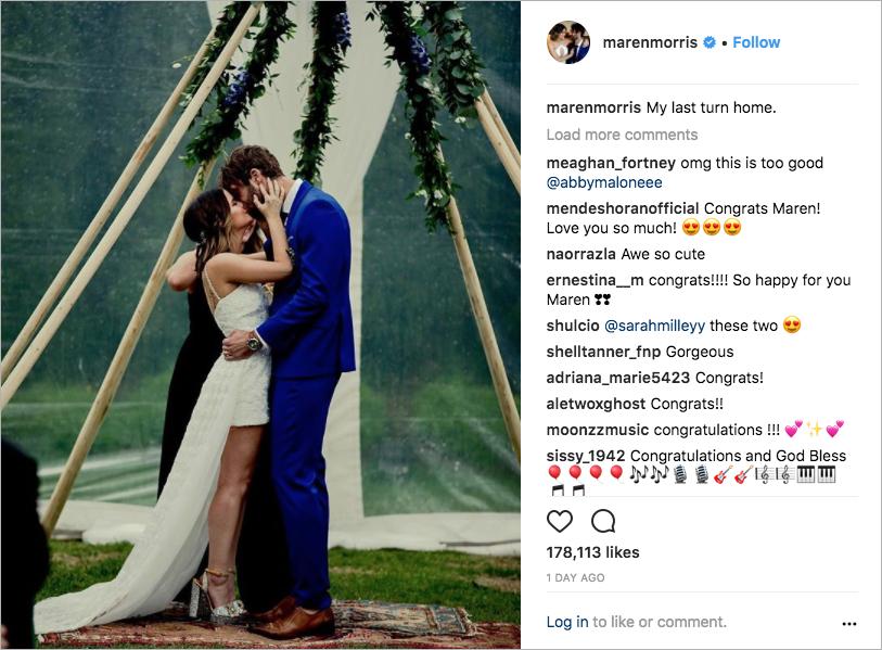 maren morris and ryan hurd wedding, celebrity weddings, boho-chic weddings