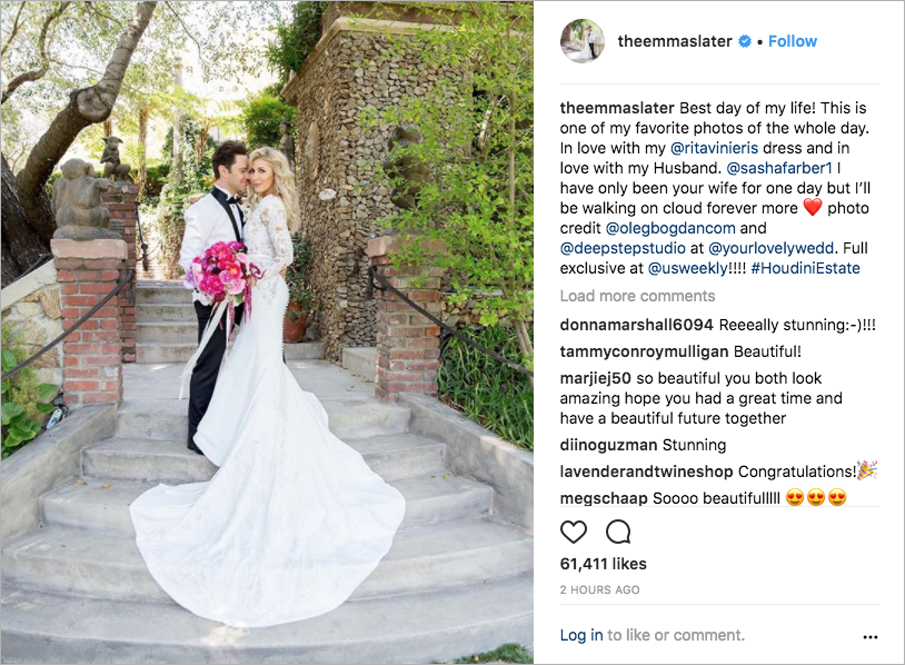 Lindsay Arnold Wedding.Dancing With The Stars Pros Emma And Sasha Are Married Inside