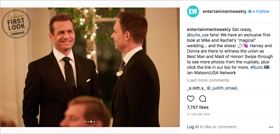 meghan markle wedding, rachel and mike wedding on suits season finale, mike and harvey suits bromance