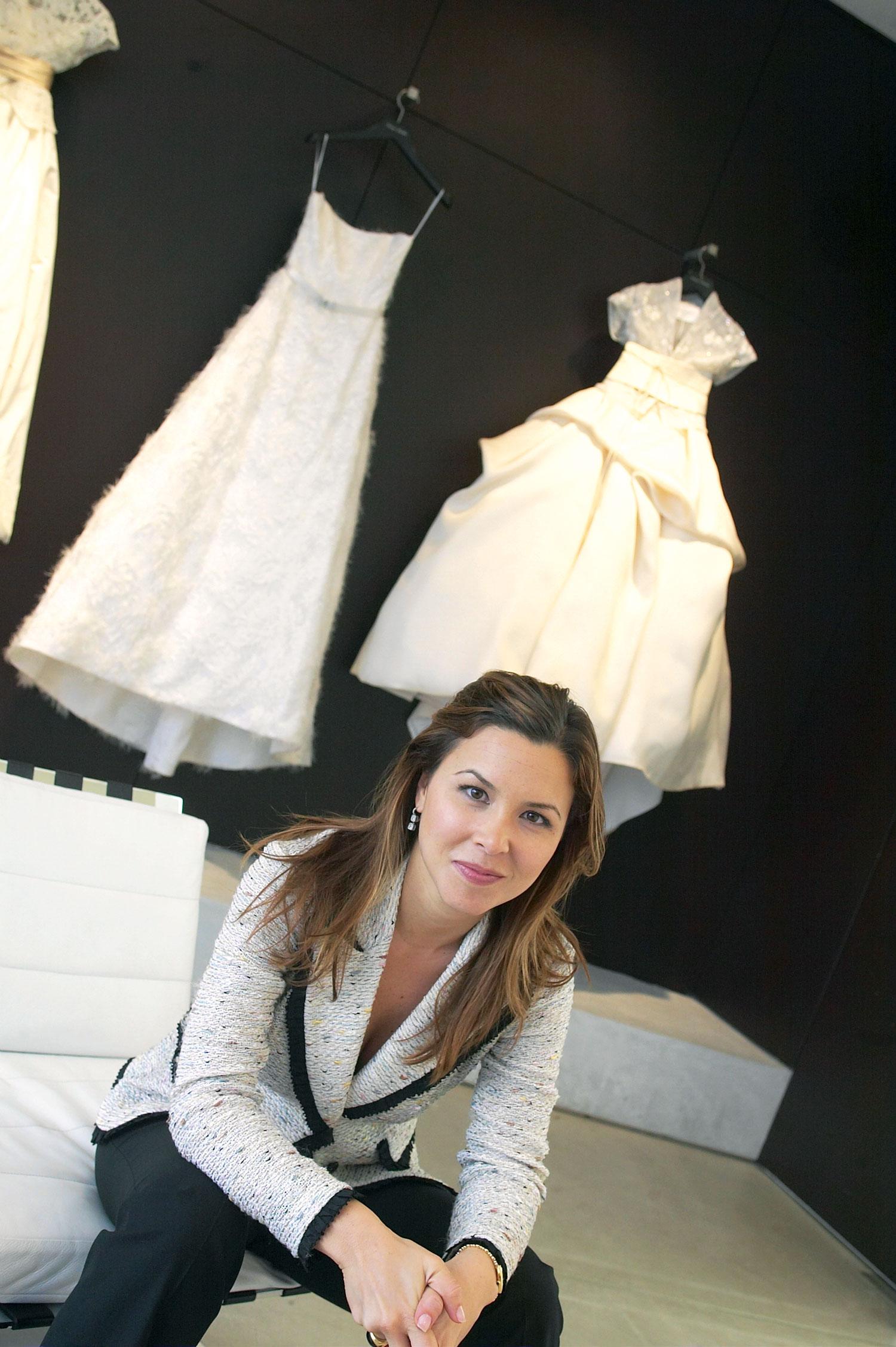 Monique Lhuillier fashion designer bridal designer wedding dresses interview with Inside Weddings magazine